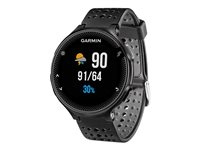 Garmin Forerunner 235 Gps Running Watch With Wrist-Based Heart Rate, 1.23 Display, Black/Gray