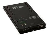 GefenToolBox 6x2 Matrix for HDMI 4Kx2K - video/audio switch - managed