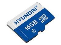 Hyundai - Flash Memory Card - 16 Gb - Microsdhc Uhs-I
