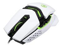 Kaliber Gaming Fokus Pro Laser Gaming Mouse - Mouse - Usb - Imperial White