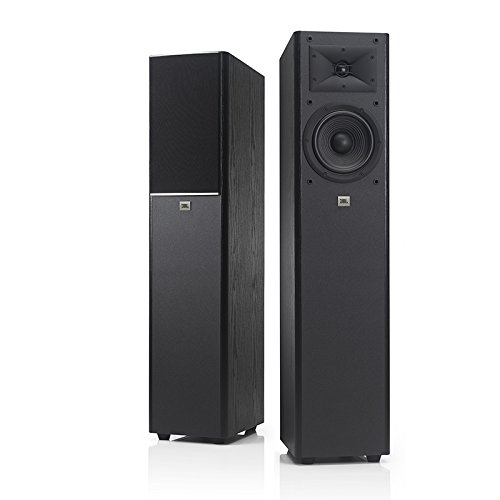 JBL 2-Way 7 Floor Standing Loudspeaker (Black, Single)