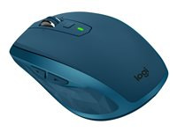 Logitech MX Anywhere 2S - mouse - Bluetooth, 2.4 GHz - midnight teal