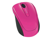 Microsoft Wireless Mobile Mouse 3500 - Mouse - 2.4 Ghz - Magenta
