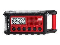Midland ER310 Emergency Dynamo Crank Radio w/ AM/FM/Weather Alert & 2600mAH Battery