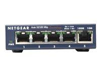 NETGEAR ProSAFE FS105 10/100 Desktop Switch - switch - 5 ports