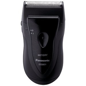 Panasonic Compact Single Blade Wet/Dry Travel Mens Shaver