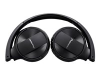 Pioneer Se-Mj553Bt-K On Ear Wireless Stereo Headphones - Black