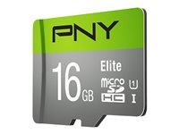PNY Elite Performance - flash memory card - 16 GB - microSDHC UHS-I