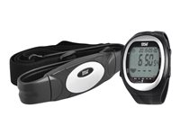 Pyle Activity Tracker Black - Silver - With Heart Rate Monitor