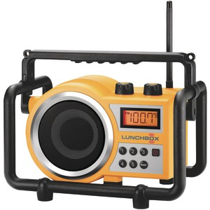Sangean LB-100 Compact FM / AM Ultra Rugged Radio Receiver  - Yellow