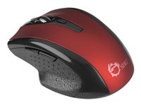 SIIG JK-WR0912-S2 - mouse - 2.4 GHz - red