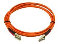 Startech 2m Fiber Optic Cable - Multimode Duplex 50/125 - LSZH - LC/LC - network cable - 6.6 ft
