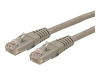 Startech 25 ft Gray Cat6 / Cat 6 Molded Patch Cable 25ft - patch cable - 25 ft - gray