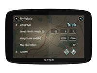 TomTom TRUCKER 520 - Lifetime Traffic & Maps Edition - GPS navigator