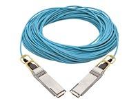 Tripp Lite 100GBase-AOC direct attach cable - aqua