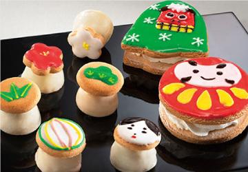 アイシングクッキーアイス「日本の春」
