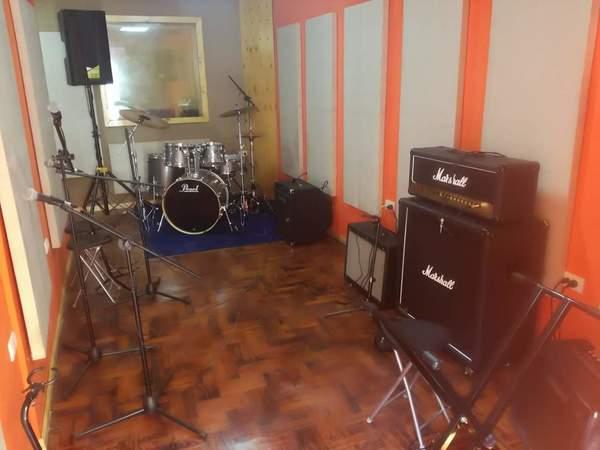 Sala de ensayo fgl studio