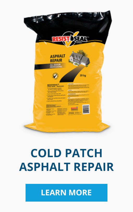 Resistoseal cold patch