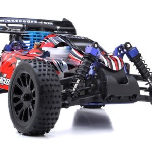 BUGGY RADIO CAR 116 EXCEED RC RC Blu NITRO GAS 2.4G