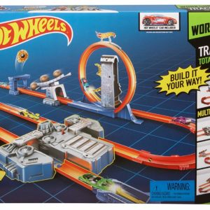 HOT WHEELS TRACK BUILDER TOTAL TURBO TRACK SET