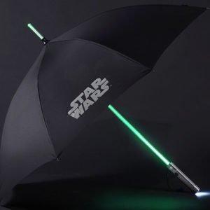 Star Wars Luke Skywalker Light Up Lightsaber Umbrella