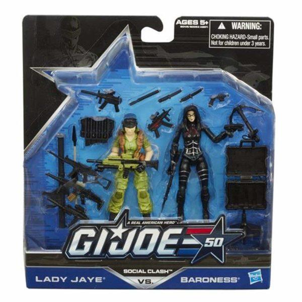 G.I. Joe Social Clash Lady Jaye - Baroness