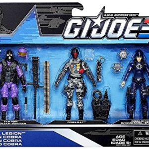 GI.JOE COBRA LEGION SET (SAW VIPER, COBRA BAT, COBRA OFFICER)