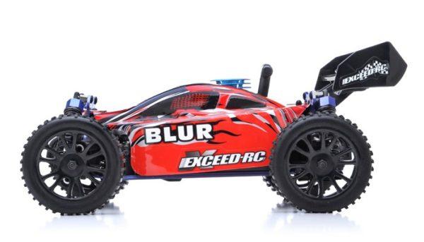 BUGGY RADIO CAR 116 EXCEED RC RC Blu NITRO GAS 2.4G