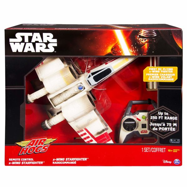 AIR HOGS STAR WARS REMOTE CONTROL X-WING STARFIGHTER