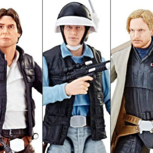 STAR WARS THE BLACK SERIES 3 PERSONAJES