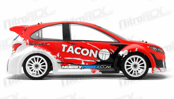TACON RANGER RALLY CAR READY TO RUN