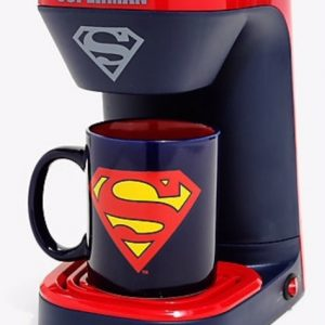 Cafetera de Súper Man