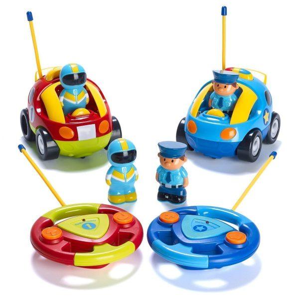 carros policía control remoto