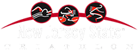 New Jersey State Triathlon Logo