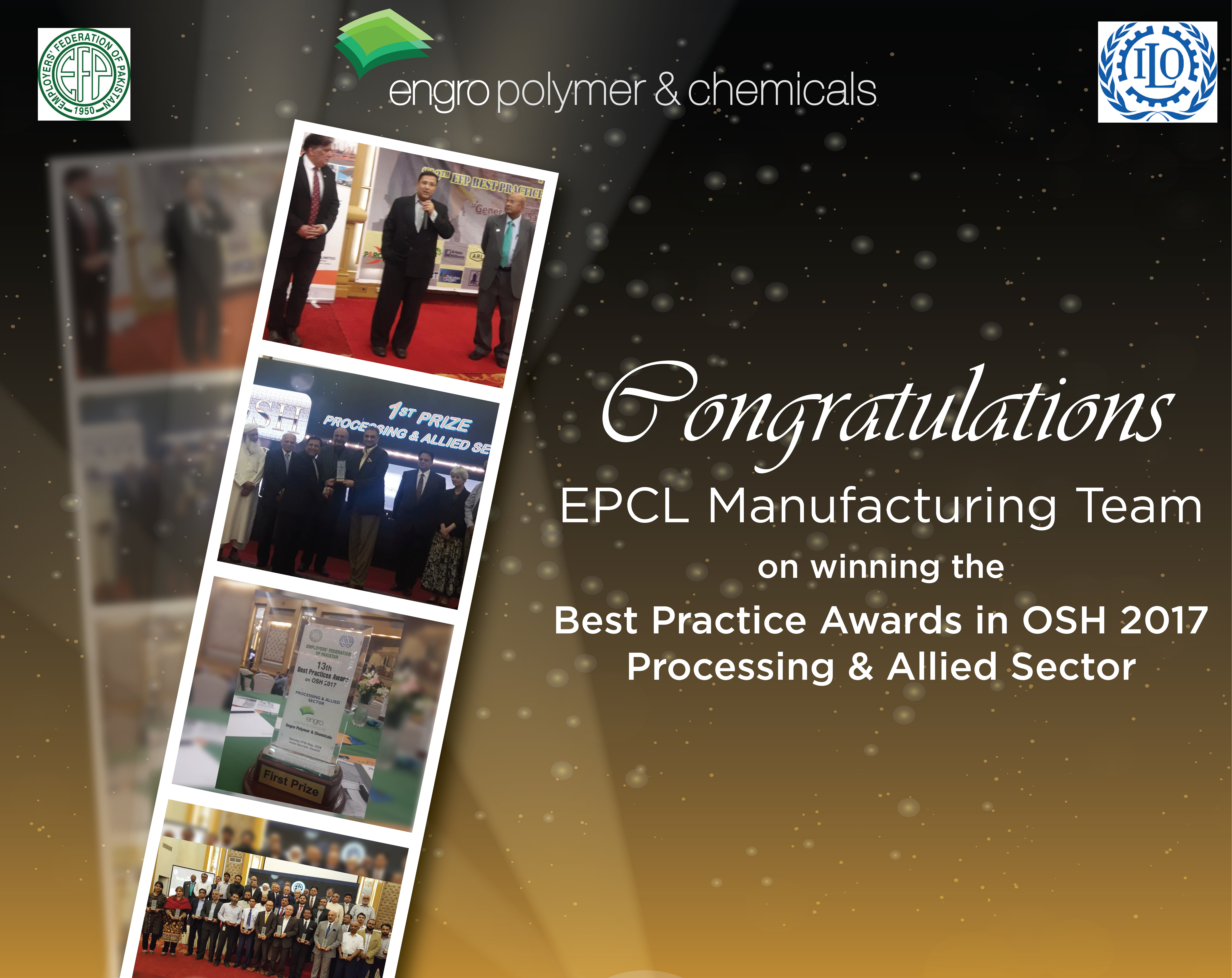 EPCL Manufacturing Team wins Best Practices Awards