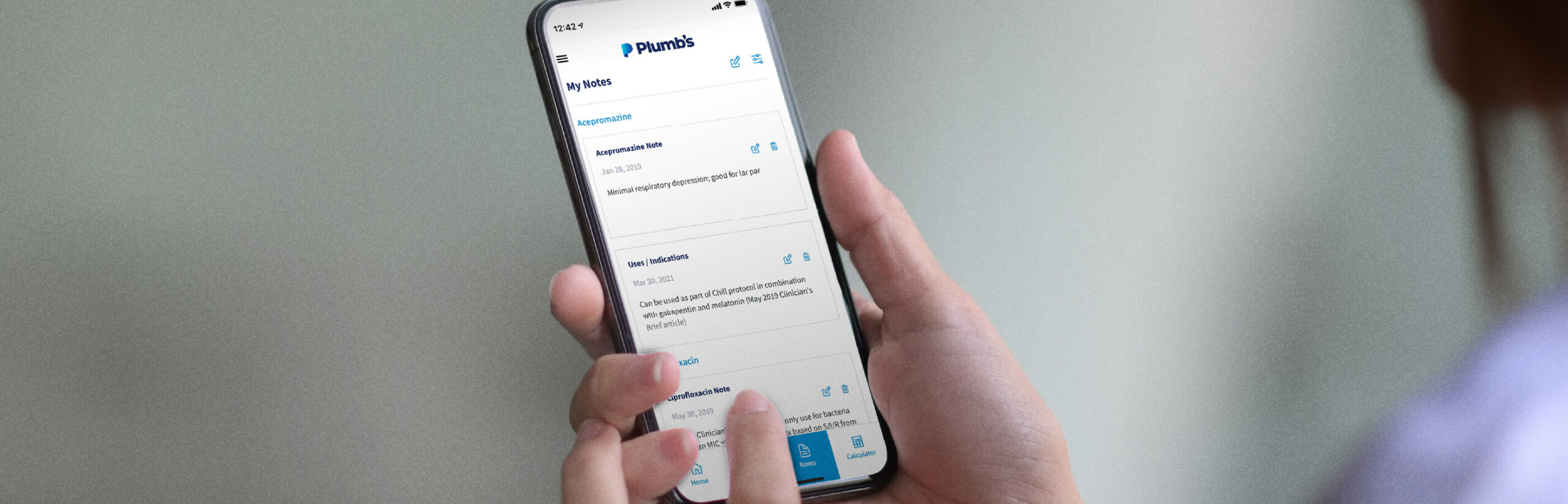 How Plumb's Veterinary Drugs Saves You Time with Notes and Favorites