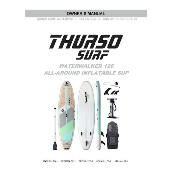 Thurso Surf 2020 Waterwalker 126 Manual