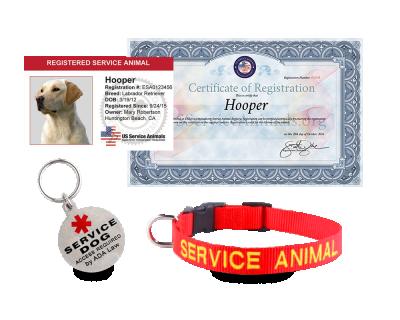 Service Animal Registration - Standard Package