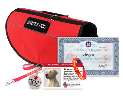 Service Animal Registration - Deluxe Package