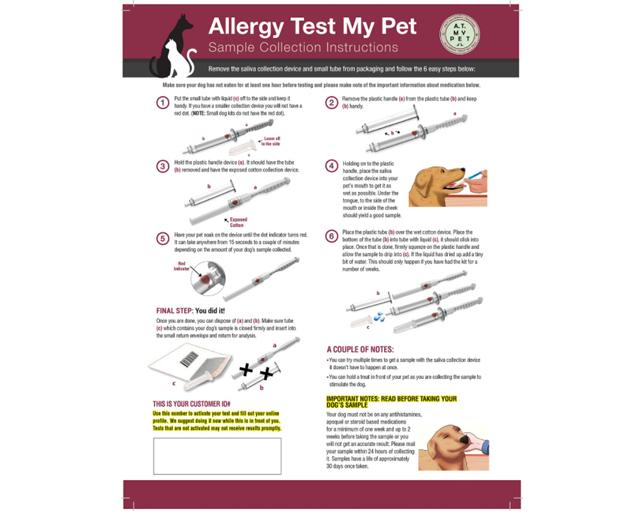 DNA My Dog - Allergy Test My Pet Kit