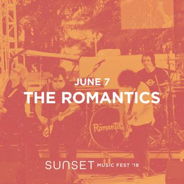 Sunset Music Fest: The Romantics with Modern Day Fitzgerald