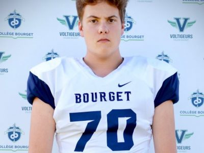 OL Zachary Seguin stands out with size, skill