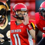 Canada West football: Dzwilewski, Edem, Blaszko, lead parade of Dinos award-winners; Regina's Brett Jones wins two