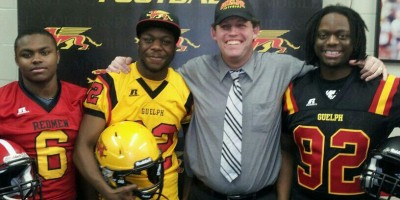 Toronto native Munroe suiting up for the Gryphons this fall (VIDEO)