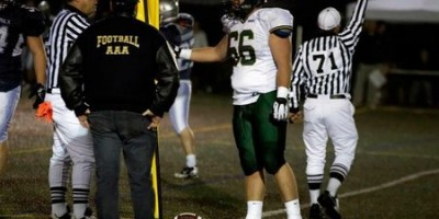 """Condors lineman using caution when pondering future:  """"It's good to know that people are paying attention"""" says CFC Top 100 Perreault"""