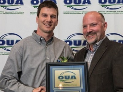 Quinlan named OUA athlete of the year