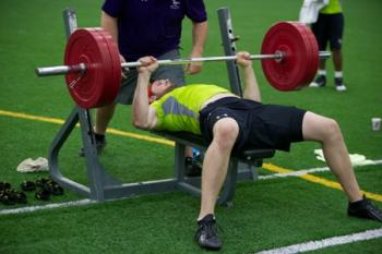 2013 CIS East West Bowl Combine:  Laval's Thibault powers his way to the top, McGill & Windsor players post impressive results (RESULTS/VIDEO)