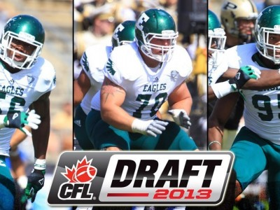 Three Eagles Taken in the Canadian Football League Draft