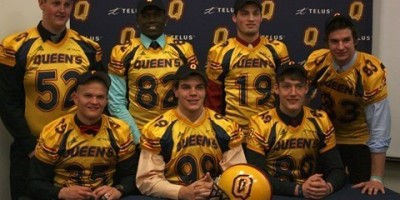 Queen's adds seven recruits to class (video)