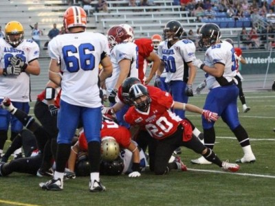 Lauded o-lineman aims high in the CIS
